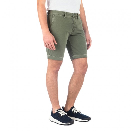 New Brighton - Short Chino Slim (Army Green)