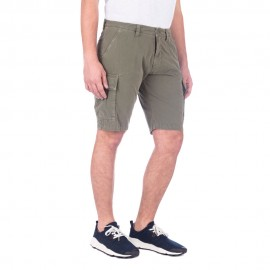 Dover - Men's Cargo Shorts (Army Green)