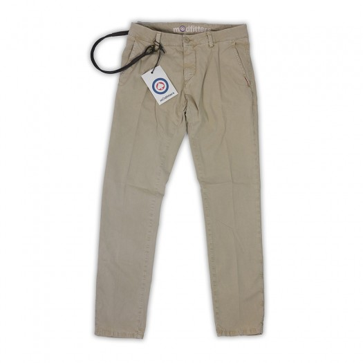 Soho - Pantalone Chino Slim Jungle
