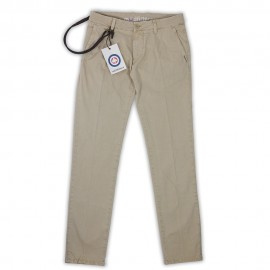 Carnaby - Pantalone Chino Slim Stone