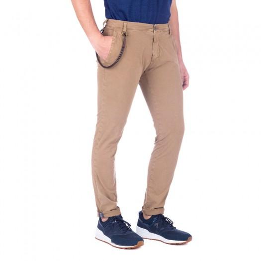 Carnaby - Pantalone Chino Slim (Moka)