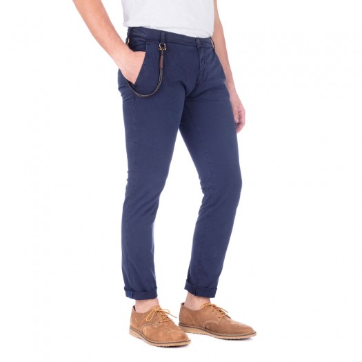 Carnaby - Pantalone Chino Slim (Navy)