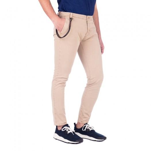Soho - Pantalone Chino Skinny (Mud)