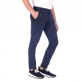 Soho - Pantalone Chino Skinny (Navy)