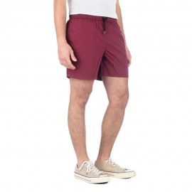 Wight - Herren Bade-Boxershorts (Bordeaux)